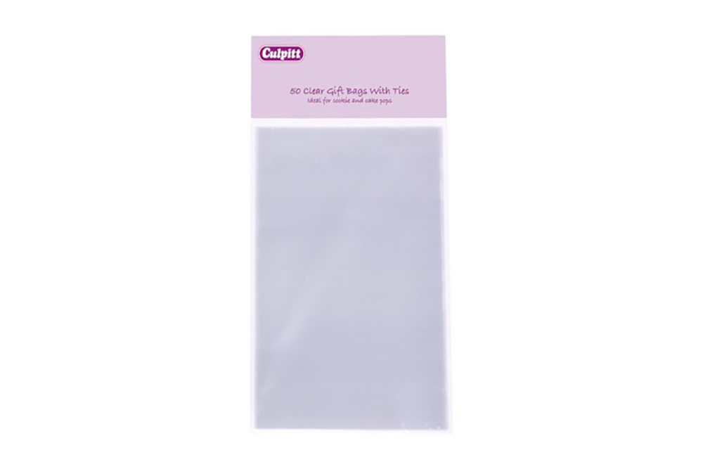 sc 1 st  Donnau0027s Cake Decorating Supplies & Clear Gift Bags Large (50) | Donnau0027s Cake Decorating Supplies