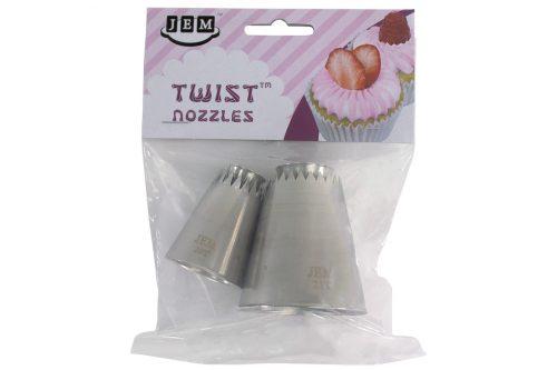twist turn nozzles